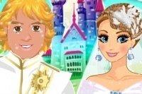 Anna und Kristoff Hochzeit