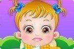 Baby Hazel ist krank
