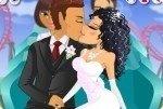 Brautpaar Achterbahn