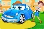 Kinder Autowäsche