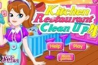 Küche sauber machen