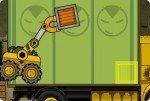 Lastwagen beladen
