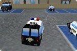 Polizeiauto parken