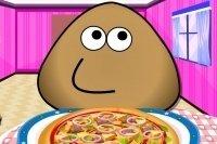 Pou der Pizzabäcker