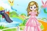 Prinzessin am Wasserpark