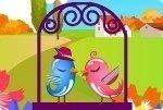 Vogel Hochzeitspaar