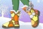 Warme Schneestiefel